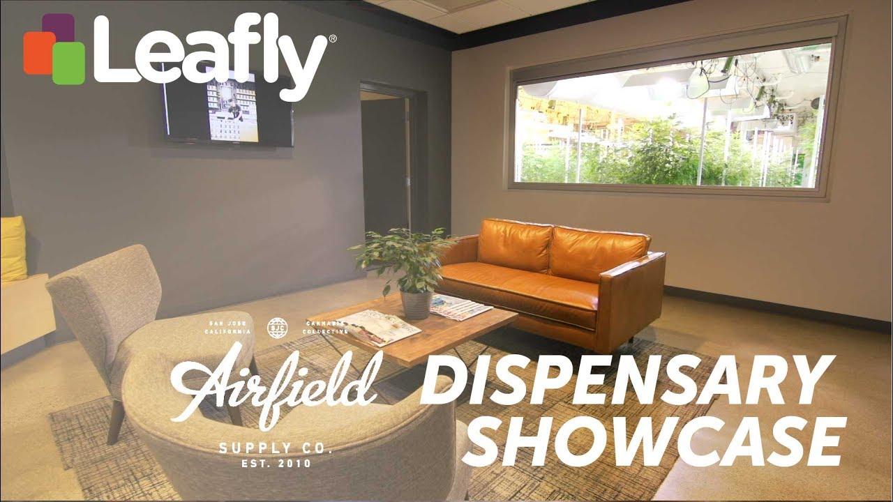 dispensary showcase airfield supply co in san jose california