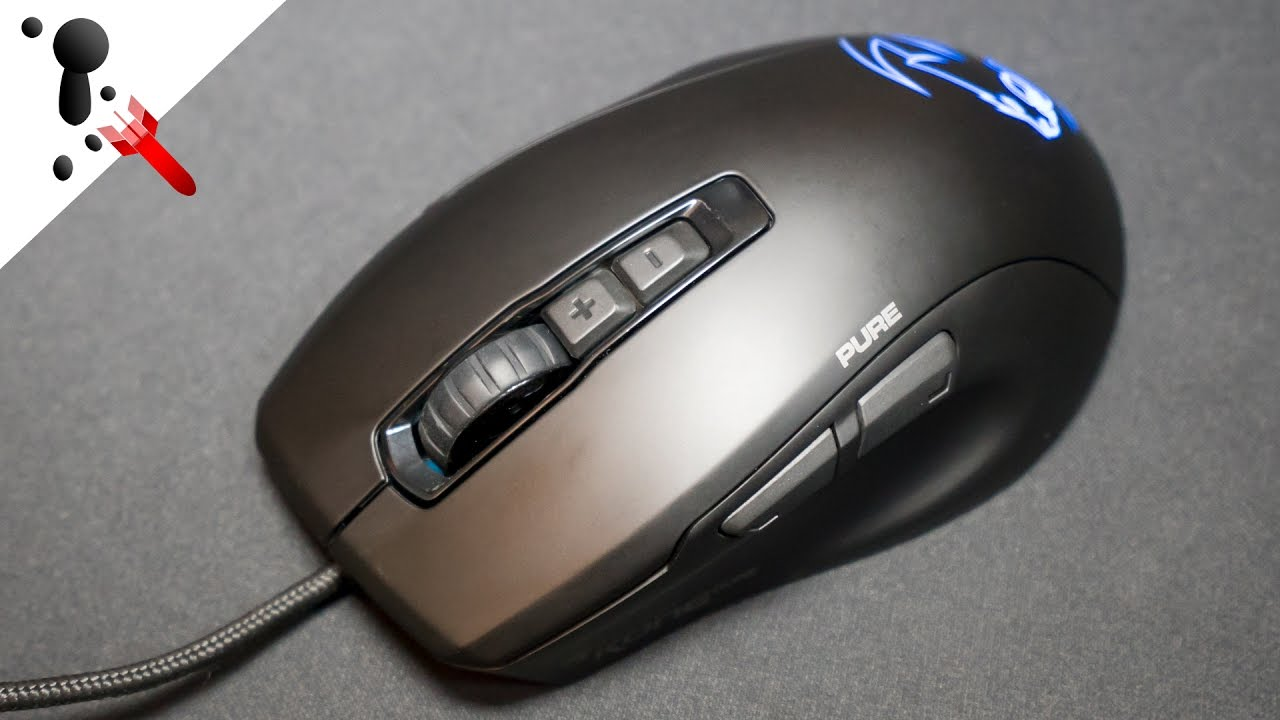 c88915c9bd4 Roccat Kone Pure Owl-Eye Review (VS Military Edition) - YouTube