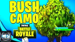 COMO obter LEGENDARY BUSH CAMO no Fortnite Battle Royale gameplay