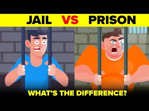 Jail vs Prison - What's ACTUALLY The Difference?