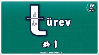 TÜREV 1  Bebek Adımları   Rehber Matematik bebekadımları