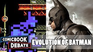 Evolution of Batman Games in 9 Minutes (2017)