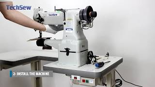 How to Set Up the Techsew 2700 Industrial Sewing Machine