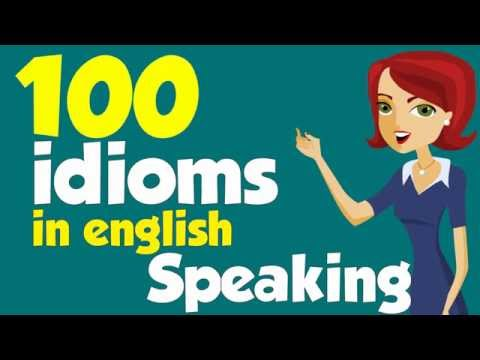 100 American idioms (Examples) - Part 1 - YouTube