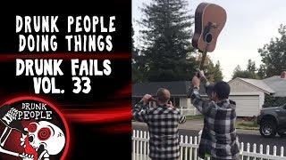 Funniest Drunk Fails Compilation Vol. 33 | Drunk People Doing Things