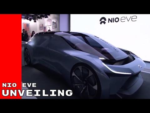 NIO EVE Autonomous Electric Concept Car Unveiling & Introduction