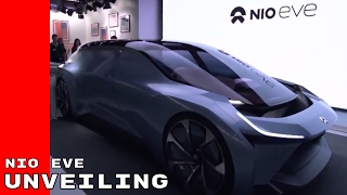 NIO EVE Autonomous Electric Concept Car Unveiling & Introduction