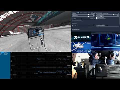 Xplane11 VR vs