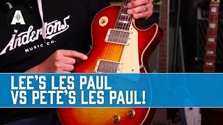 The Captain Vs Danish Pete   Battle of the Gibson Les Pauls!