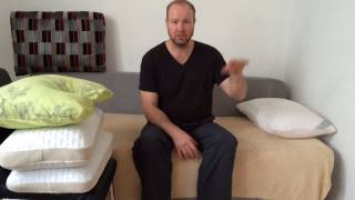 видео Как выбрать подушку и какую ортопедическую лучше