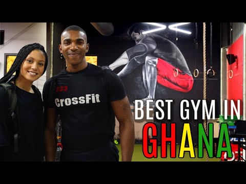 BEST GYM IN GHANA | FITRIP ACCRA GYM TOUR