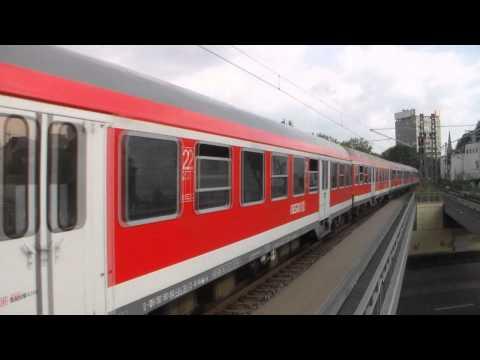 Zugverkehr im Hamburg-Dammtor Bahnhof 16.08.2015