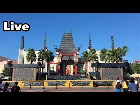 Hollywood Studios Live Stream - 4-27-18 - with Fantasmic!  Walt Disney World