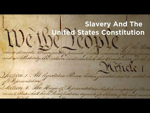 The American Constitution's Limitations On Abolishing Slavery