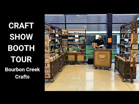 Craft Show Booth Tour April 2019 - Craft Fair Set Up - Spring Market