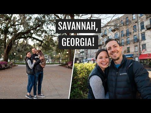 One Day in Savannah, Georgia   Exploring the city, ice cream, & unique food