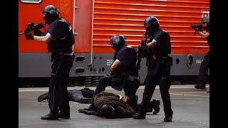 Terrorübung in Stuttgart: Simulation mit Toten und Verletzten am Hauptbahnhof