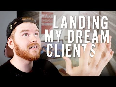How I landed my DREAM freelance client work