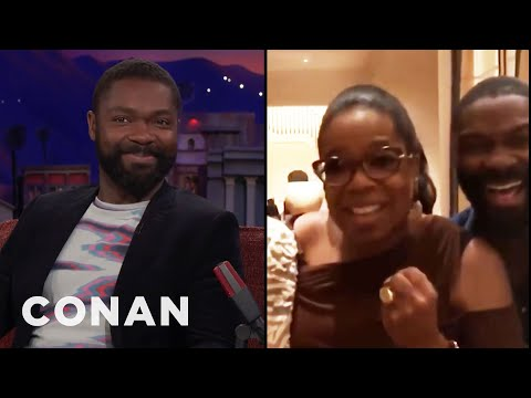 Oprah Visited David Oyelowo's Mom At The Hospital   CONAN on TBS