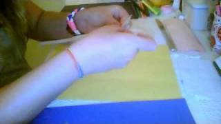 How To Make A Paper Braclet :) Thumbnail