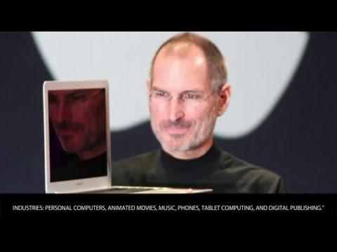 Steve Jobs - Video Poll, vote now! Influential People Bios - Wiki Videos by Kinedio