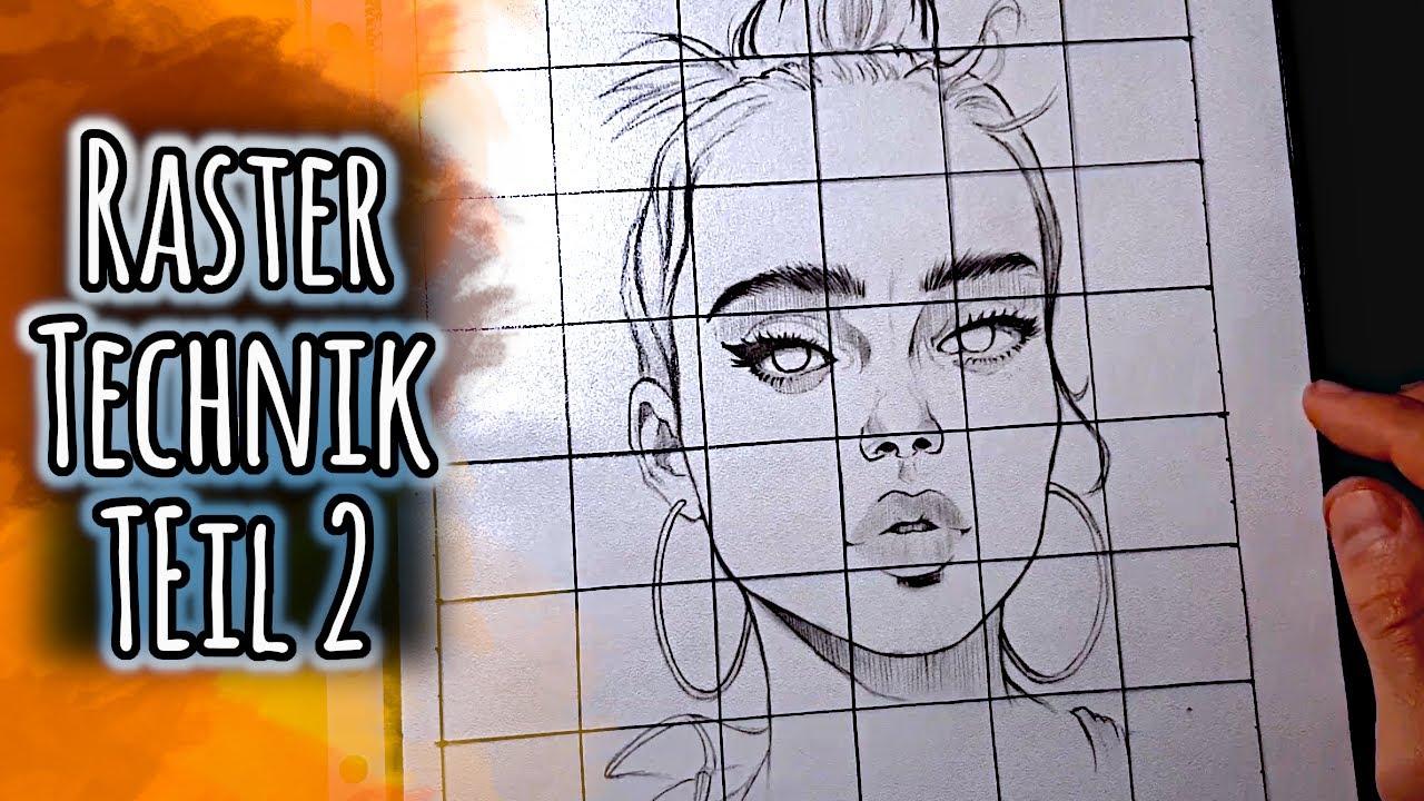 Mara Mattia Art Lesson 6 Grid Method For 5