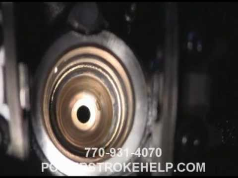 INJECTOR CUP FAILURE IN POWERSTROKE
