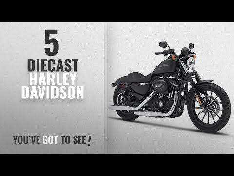 Top 10 Diecast Harley Davidson [2018]: 2014 Harley Davidson Sportster Iron 883 Motorcycle Model