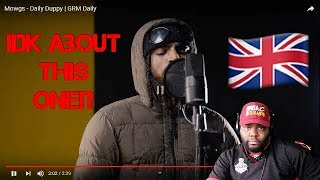 Mowgs - Daily Duppy (freestyle) Reaction