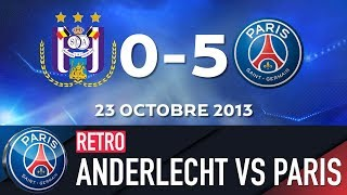 RETRO - RSC ANDERLECHT vs PARIS SAINT-GERMAIN 1992 & 2013