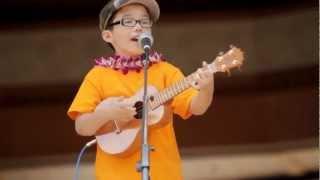 Download Cute 8-year old boy singing Train's