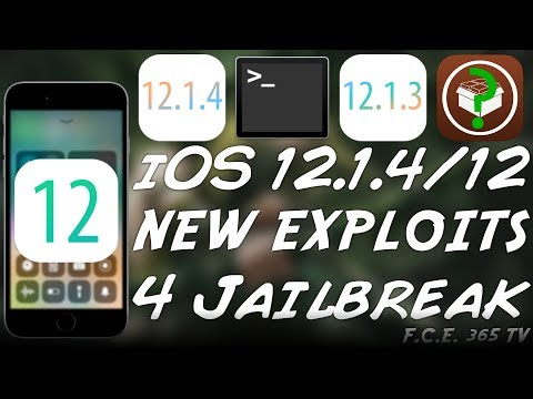 iOS 12 1 4 / iOS 12 1 3 JAILBREAK NEWS: IMPORTANT EXPLOIT