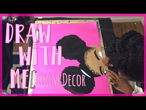 Draw With Me| Painting Room Decor