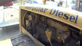 Proper way to start a Caterpillar D 2 with a pony motor