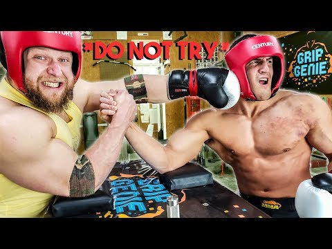 Full Contact Arm Wrestling *DON'T ATTEMPT*