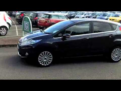 used ford fiesta diesel hatchback 2009 1 4 tdci titanium. Black Bedroom Furniture Sets. Home Design Ideas