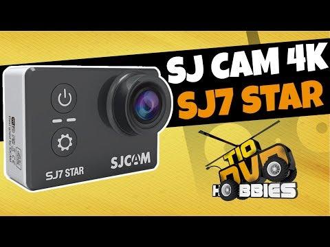 A MELHOR CAMERA 4K ULTRA HD BOA E BARATA MELHOR QUE GOPRO - SJCAM SJ7 STAR