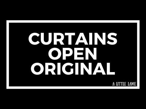 Original - Curtains Open