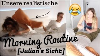 unsere realistische MORNING ROUTINE [ Julians Sicht ]  :D | Julienco