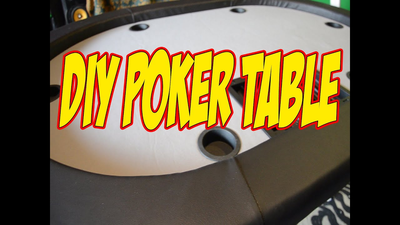 poker table home depot
