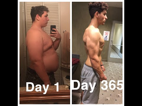 19 Year Old Loses Over 100lbs In 1 Year | Weight Loss Transformation