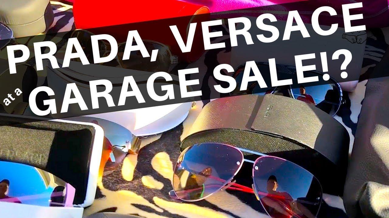 1ce3dd2007 We Found Prada   Versace at a Garage Sale!  REAL or FAKE
