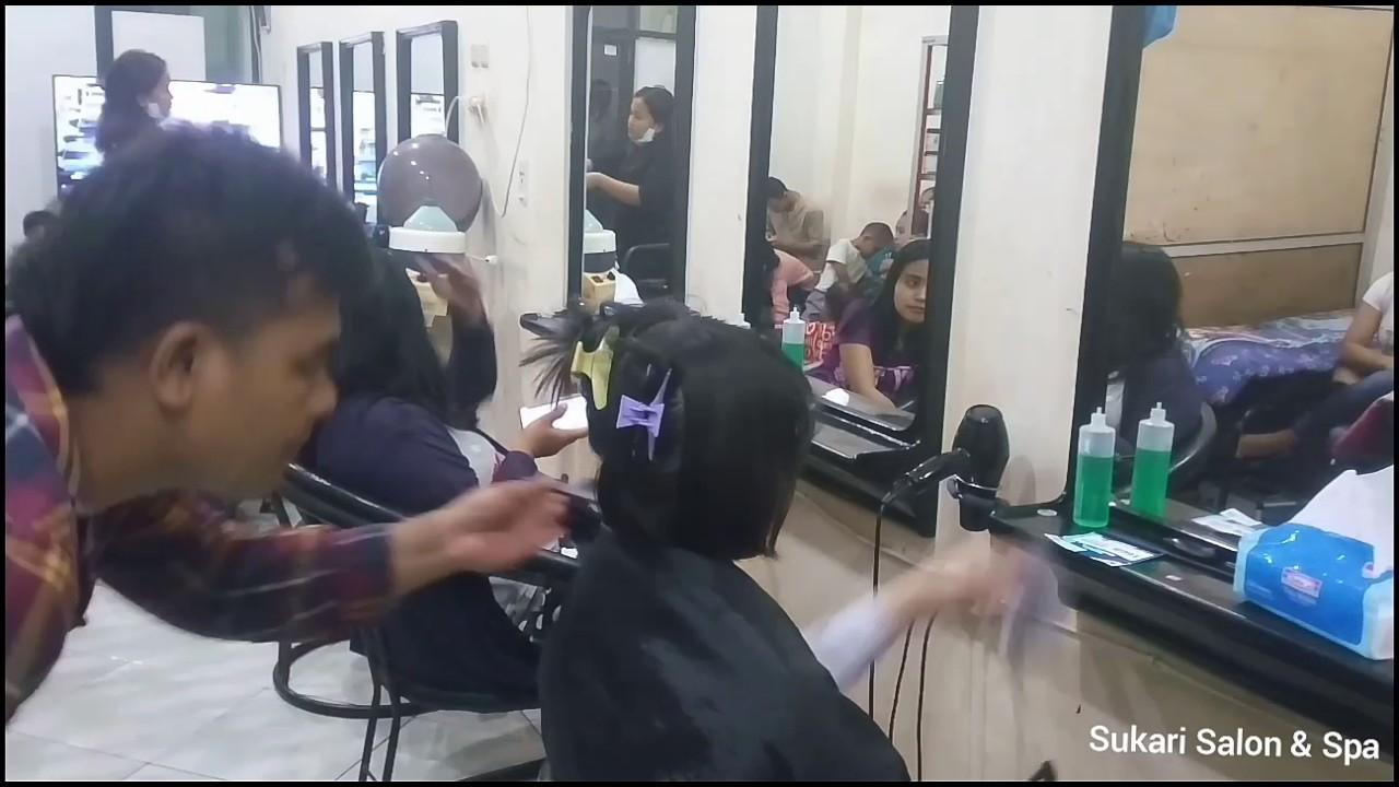 Potong Rambut Bob Nungging - YouTube 7a714dd9e6