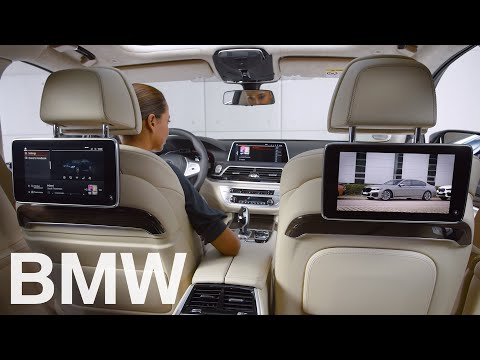 How to use the Rear Seat Entertainment system in your BMW – BMW How-To