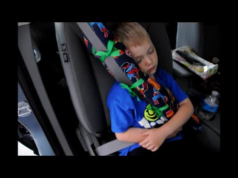 Diy Seat Belt Pillow Tutorial Youtube