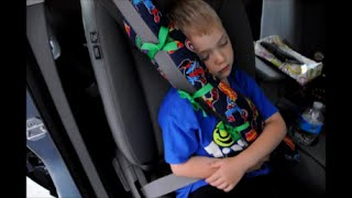 DIY Seat Belt Pillow Tutorial
