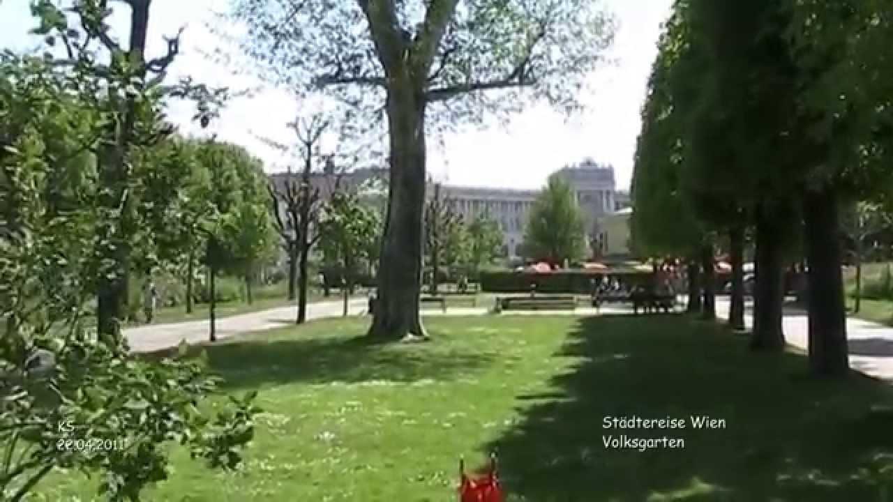 Volksgarten Wien Youtube