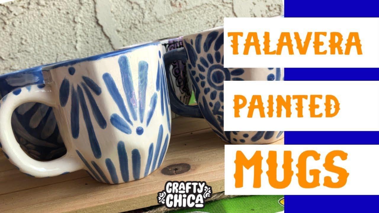 156c407c198 Talavera Pottery DIY Mugs