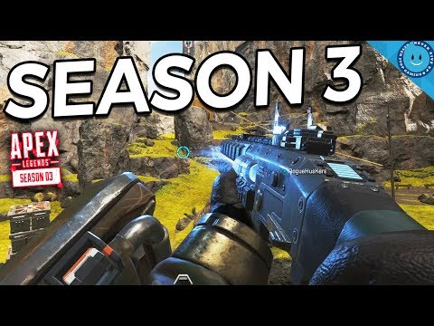 New Apex Legends Season 3 Gibraltar Looks SCARY! (New Map Gameplay)