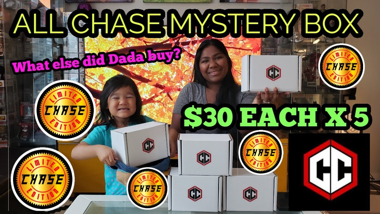 Download Chalice Collectibles All Chase Funko Pop Mystery box + Mail Call